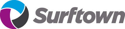 Surftown webbhotell logo